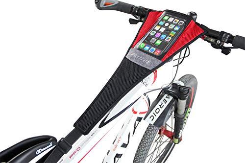 Aesy Fahrrad Trainer Rolle Schwamm NETO Abdeckung Rahmen Guardia Gurt Schweißabsorber, Unisex-Erwachsene, B