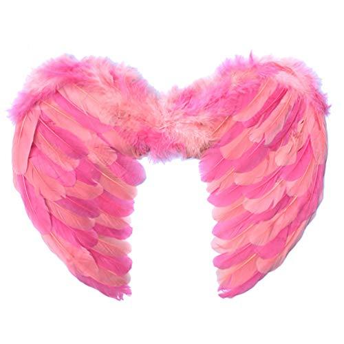 Amosfun Flamingo Wings Kostüme für Kinder Kinder Engelsflügel Rollenspiel Fee Cosplay Partyzubehör