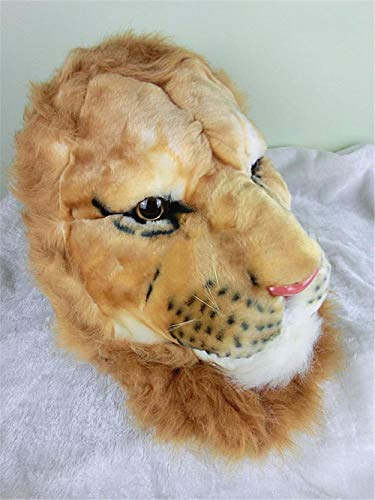 SAOGA Männliche mittlere Schule der Persönlichkeit der Männer männliche mittlere Schule der kreativen Simulation großer Tigerkopfrucksacklöwenkopftigerkopfbeutel-Rucksack-Umhängetasche, Löwentasche