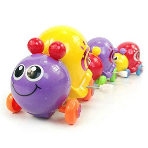 Kekailu Snail Wind Up Toy,Cute Cartoon Animal Snail Wind Up Toys Clockwork Newborn Kids Spring Toy,Random Color