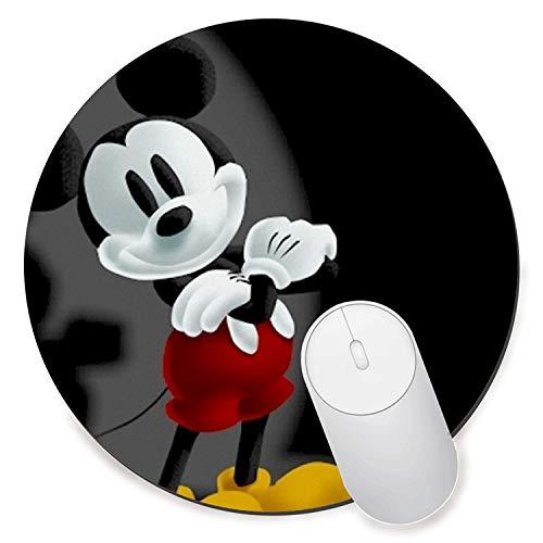 Alfombrilla de ratón para videojuegos, de goma antideslizante, para ratón, para ordenadores, portátiles, Mickey Mouse