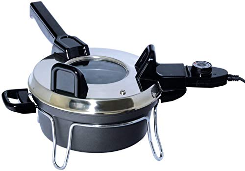 Total Chef TCCZ02SN Tschechische Cooker, Steel, 3 liters