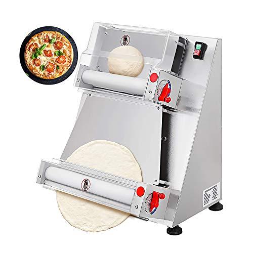 Wenzhi Laminadora de Masa eléctrica para Pizza Rodillo de Masa para Pizza Eléctrico Automático de Acero Inoxidable