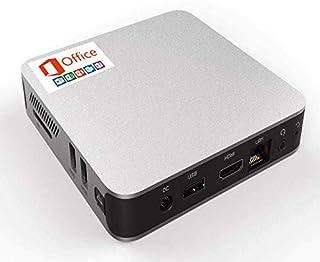 【 Microsoft Office 2019 Windows 10 Pro 搭載】GM-JAPAN 超軽量 省スペース デスクトップ パソコン ミニPC/Celeron N3350 / メモリ 4GB / SSD 64GB / USB3.0 / WIFI/HDMI/静音 小型PC