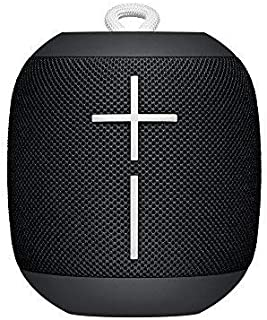 Ultimate Ears WONDERBOOM Super Portable Waterproof Bluetooth Speaker Black (Renewed)