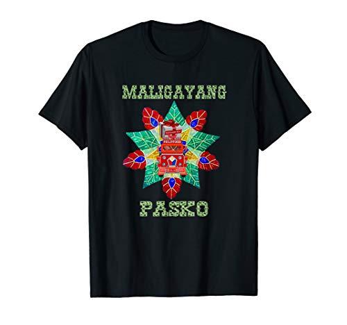 Traditional Parol with Jeepney and Balikbayan Box T-Shirt