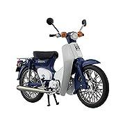 1/12 完成品バイク Honda スーパーカブ50 ブルー