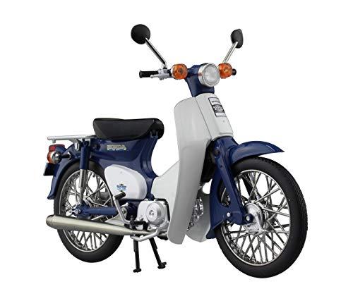 スカイネット 1/12 完成品バイク ホンダ スーパーカブ 50 ブルー