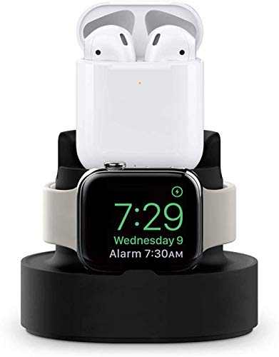 LY88 3 in 1 Apple Watch oplader houder voor iPhone 5 / 4 / 3 / 2 / 1 / AirPods / iPhone 11 / X / 8 Plus / 7 / 7Plus / SE / 5S / 6S, One