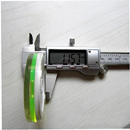 Onsinic 60 * 12mm Magnético Imán De Burbuja Nivel De Nivel De Burbuja Redondo Nivel De Instrumentos De Medición