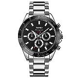 Reloj Para Hombre Con Banda De Acero Inoxidable 丨 Reloj De...