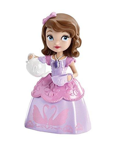 Princesa Sofía - Muñeca con Taza de té, Color Rosa (Mattel CJR00)