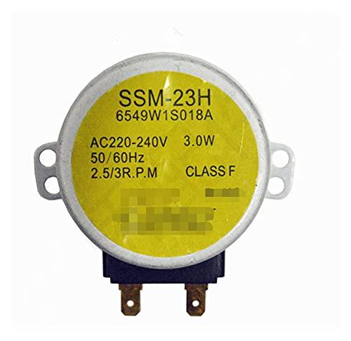 PUGONGYING Popular Microondas Horno Motor síncrono Motor SSM-23H 6549W1S018A Ajuste para LG Microondas Horno Piezas Accesorios Durable