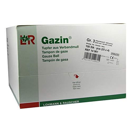 Lohmann & Rauscher Gazin Lot de 100 tampons de gaze /compresses stériles