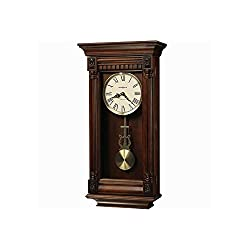 Howard Miller Lewisburg Wall Clock with Tuscany Cherry Finish Tuscany Cherry Dimensions: 13.75 W X 5.5 D X 27 H Weight: 13 Lbs