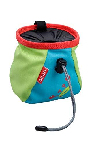 Ocun Lucky Kid + Belt Blau-Grün-Rot, Kletterzubehör, Größe One Size - Farbe Blue