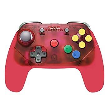 Retro Fighters Brawler64 Wireless Edition N64 Controller - Nintendo 64 - Red