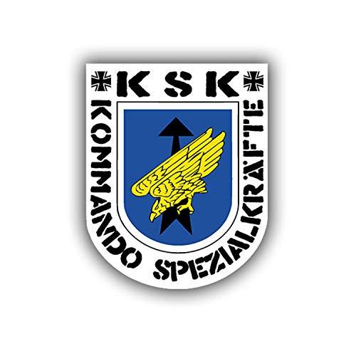 Aufkleber/Sticker KSK Kommando Spezialkräfte Emblem Logo Sek 7x6cm A682