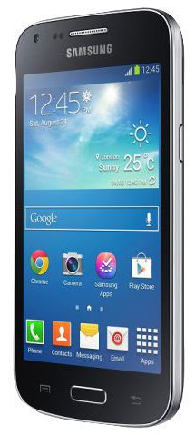 Samsung GALAXY CORE Plus SM-G350 10,92 cm (4,3 Zoll) Smartphone (TFT-Touchscreen, 1.2 GHz, 4GB, 5 MP Kamera, HD-Videokamera, Android 4.2, OEM) schwarz