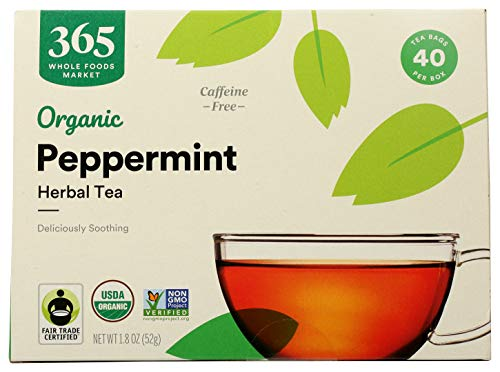 365 by WFM, Tea Peppermint Organic, 40 Count