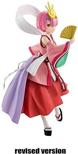 Regali Anime Re: Null Inizia la Vita in Un Altro Mondo: Kimo Rosso Kaguya Version Hime RAM PVC Figur Circa 23 cm