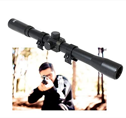 rifle scope Ottica CARABINA Aria COMPRESSA GAMO 4X20 con ATTACCHI CANNOCCHIALE MIRINO