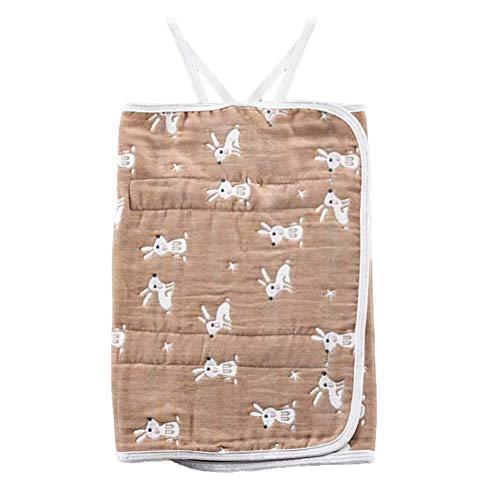 AILEE Baby Bauchnabel-Band für Babys, Bauch-Schutz, Baumwolle, beige, XL