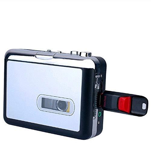 Kassettenspieler, USB Walkman, Kassettenband, Musik, Audio zu MP3, Konverter, Player, Speichern von MP3-Dateien auf USB-Flash/USB-Stick