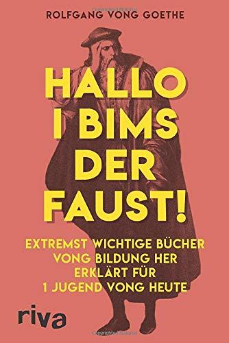 Hallo i bims der Faust: Extremst wichtige Bücher vong Bildung her erklärt für 1 Jugend vong heute