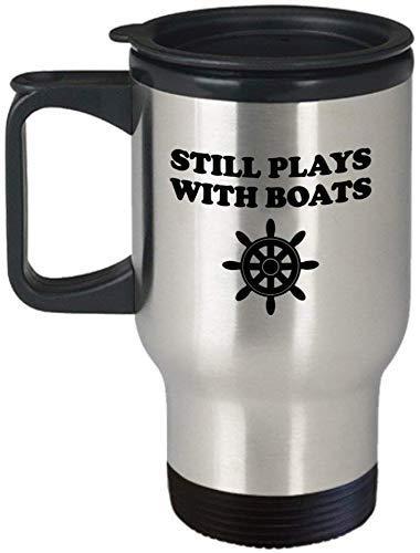 Grappige boot reizen mok boot cadeau zeilen cadeau Yachting mok grappige zeeman cadeau nog steeds speelt met boten
