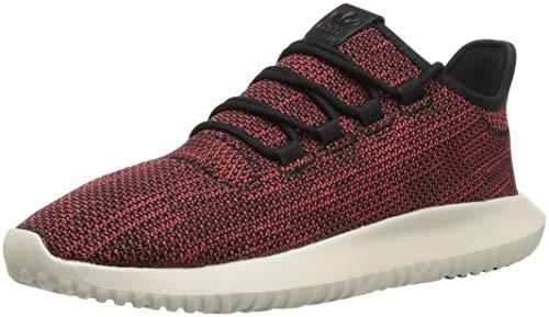 Adidas Originals, scarpe da corsa da uomo, modello Tubular Shadow CK , Marrone (Black/Trace Scarlet/Chalk White), 43.5 EU