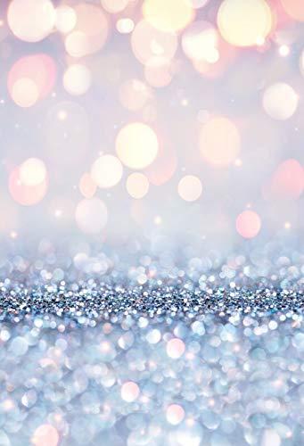 Puntino luminoso Fotografia Sfondo Neonato Compleanno Photocall Decorazione Foto Sfondo Studio Puntelli A32 9x6ft   2.7x1.8m