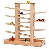 nic Holzspielzeug 1503 Multibahn Medi S mit Mulde mit 6 Teile
