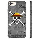 ABYstyle - One Piece - Funda para Celular - Luffy cráneo (para iPhone 6, iPhone 6S, iPhone 7 y iPhone 8)
