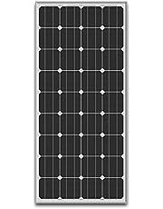ソーラー 蓄電池 の専門店 SEKIYA 高耐久25年 高効率 低照度でも使える 単結晶 ソーラーパネル 100W 18V サポート完全無料