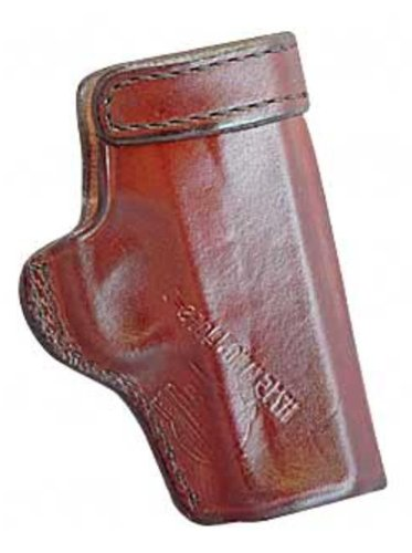 """Don Hume J168001L Clip On H715M Holster LH Brown 5"""" 1911 Government Leather"""