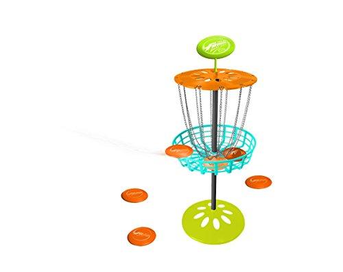 Wham-O Unisex-Jugend Game Time Frisbee Mini-Golf-Set, Multi, 1 Stück