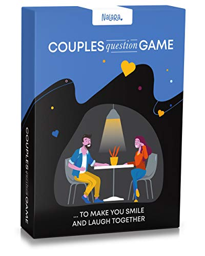 Couples Question Game ...to Make You Smile and Laugh Together – Fun and Couples Card Games - Conversation Cards for Date Night - Romantic Gifts for Him
