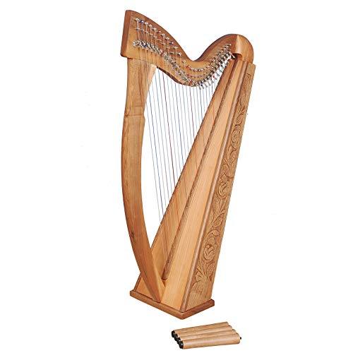 27Corde Trinity Noce Arpa, 27Strings Celtic...