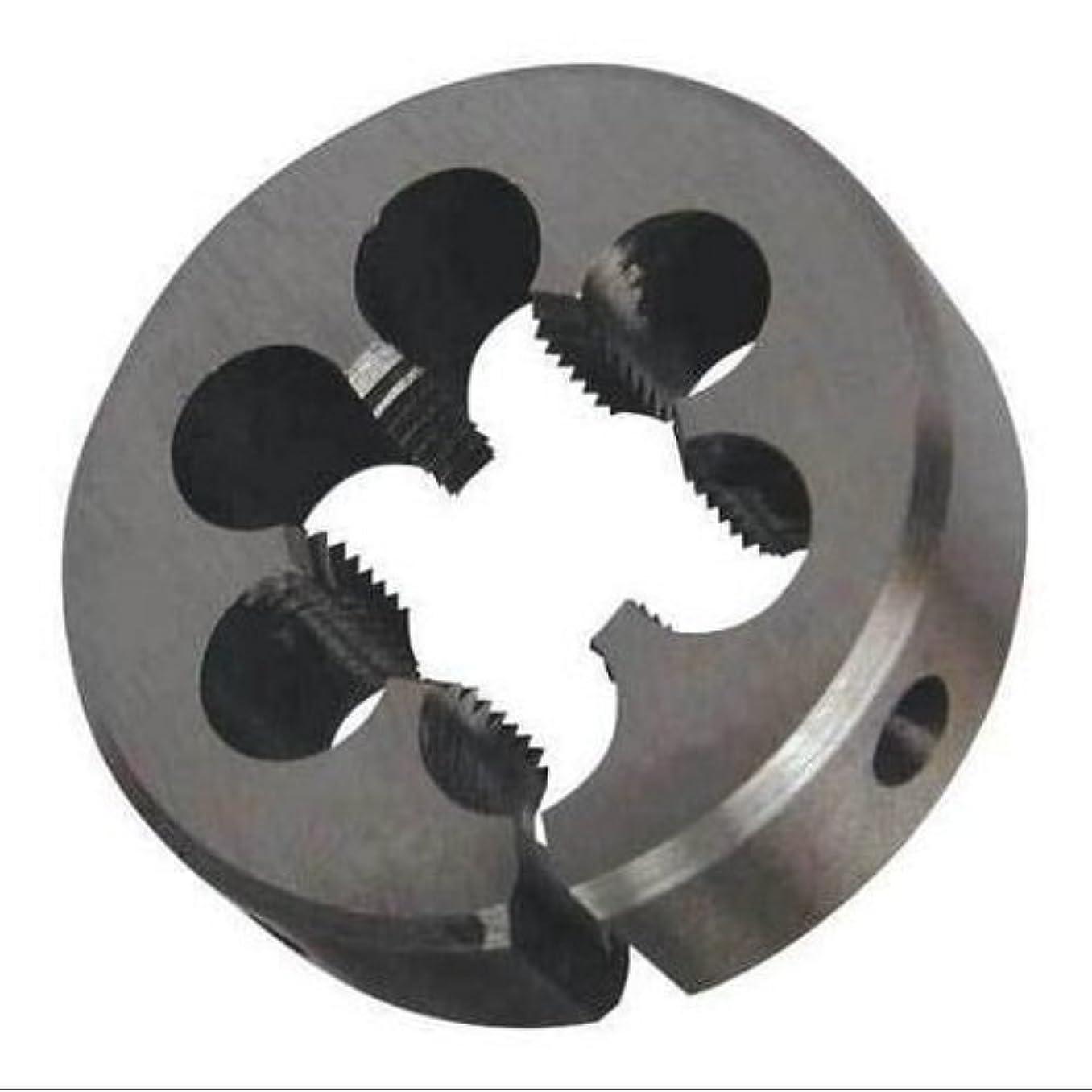 Alfa Tools HSRD90508 1-11-1/2 Npt Hss Round Adjustable Die 2-1/2 O.D,