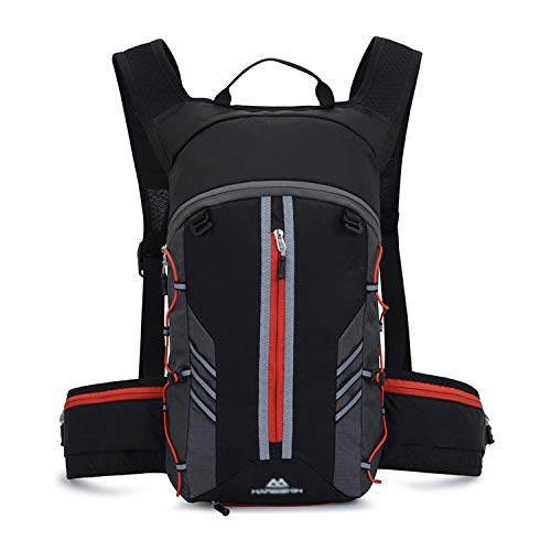 SUKUTU Bike Backpack Cycling Rucksack Waterproof Breathable 10L Foldable Biking Running Daypack Sport Bags for Men Women Outdoor Camping Hiking Cycling