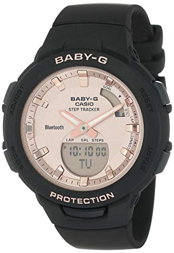 Casio Baby-G Analog-Digital Rose Gold Dial Women's Watch BSA-B100MF-1ADR(BX163)