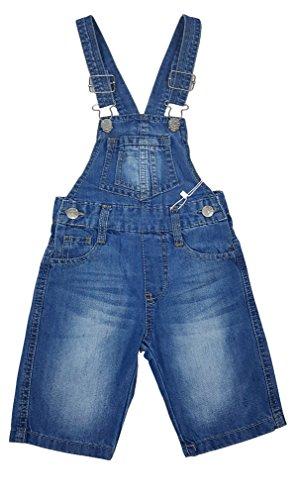 Angel Kids Tolle Kurze Jeans Latzhose Gr. 24/30 Mon. M4805