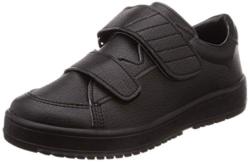 [ムーンスター] ムーンスター メンズ/レディース リハビリ 介護靴 Vステップ03 (両足同サイズ) Vステップ03(両足同サイズ) ブラック 26 cm 3E