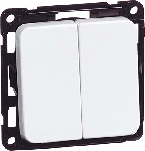 peha Serienschalter alu D 715.70 10A 250V mit Wippe Aufputz;COMPACTA Installationsschalter 4010105622812