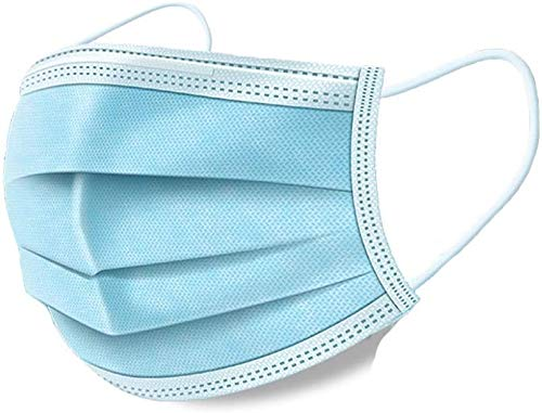 Disposable Maks, Ship from USA, Anti Dust Disposable Face Shields for Health Protection (10pcs)