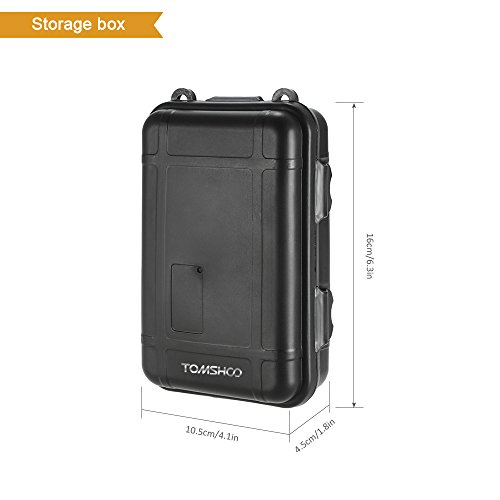 TOMSHOO 11 in 1 Outdoor Survival Kit Multi-Purpose Emergency Equipment