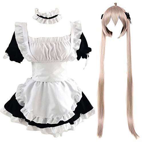 Abito da cameriera Angel Love/Seraph of The End Lolita Outfit Uniform Dress...