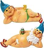 Brubaker Gartenzwerg Paar nackt 22 cm / 24 cm Porno Zwergen Paar Pärchen FKK Nudisten Zwerge männlich und weiblich