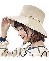 防紫外線 帽子 T WILKER 女士 uv帽 小臉效果 預防中暑 遮陽帽 可拆卸下巴系帶 按扣收納 折疊 寬檐 調節帶 吸汗透氣 防紫外線 時尚 高檔